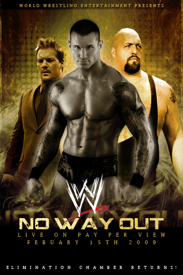 WWE No Way Out Poster by Token-J