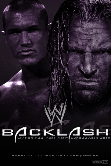 Wwe Backlash Poster By Token J On Deviantart
