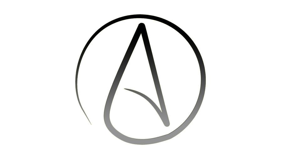 Atheist symbol by burkayk on deviantart atheist symbol by burkayk voltagebd Choice Image