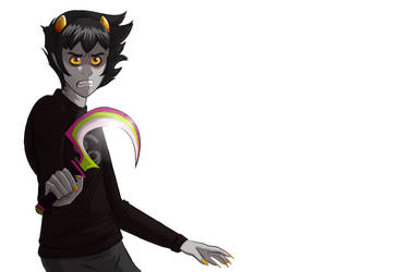 King of Strifers: Karkat by Watchowl