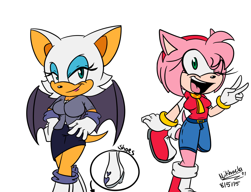 Rouge from sonic the hedgehog porn