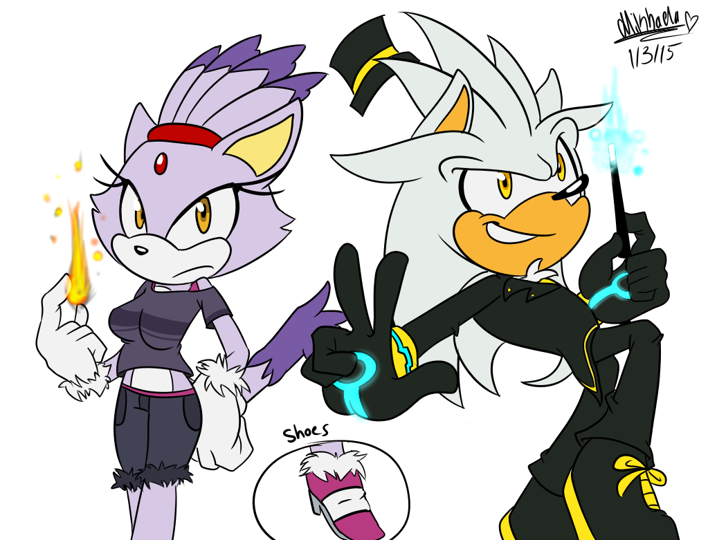 are blaze and silver dating