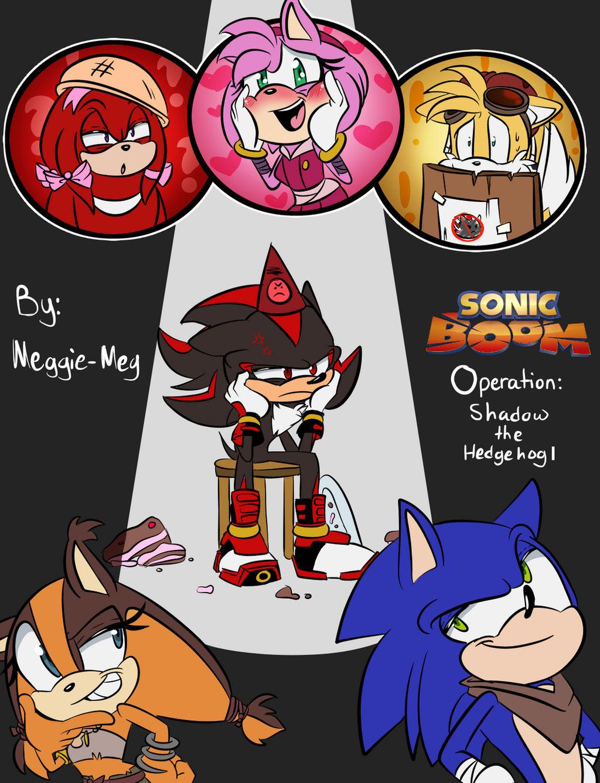 Sonic Boom: Operation: Shadow the hedgehog by Meggie-Meg on