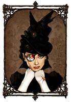Steampunk Audrey by IronMitten