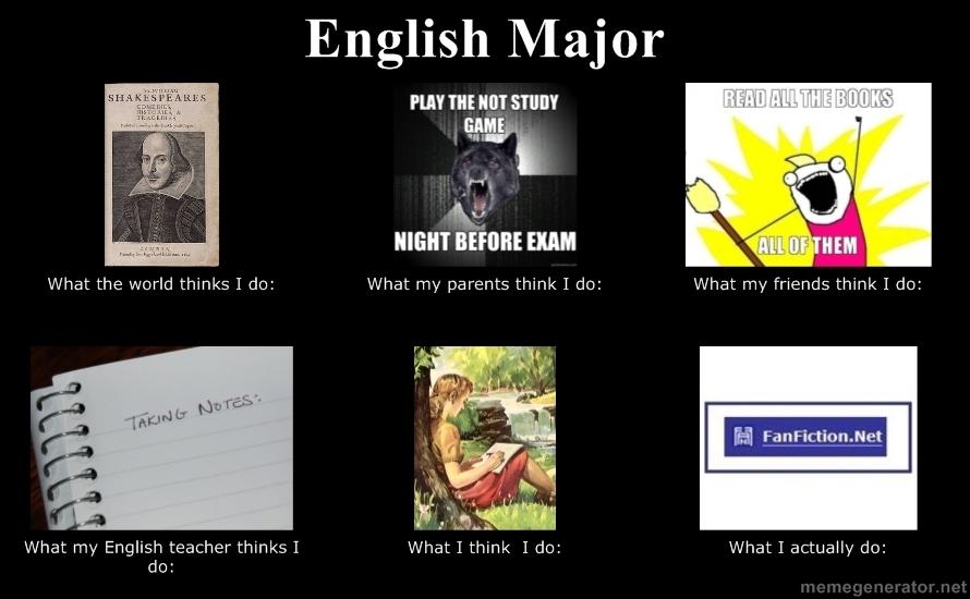 English Creative Writing Major