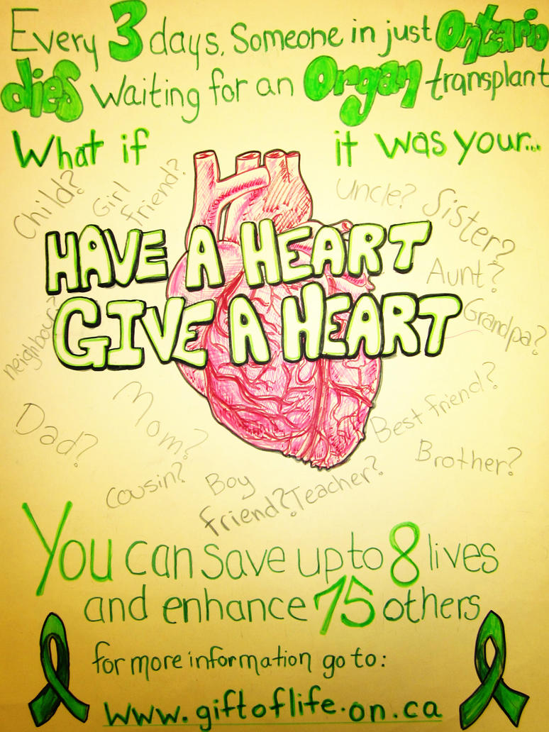 Have a Heart, Give a heart. by bingles