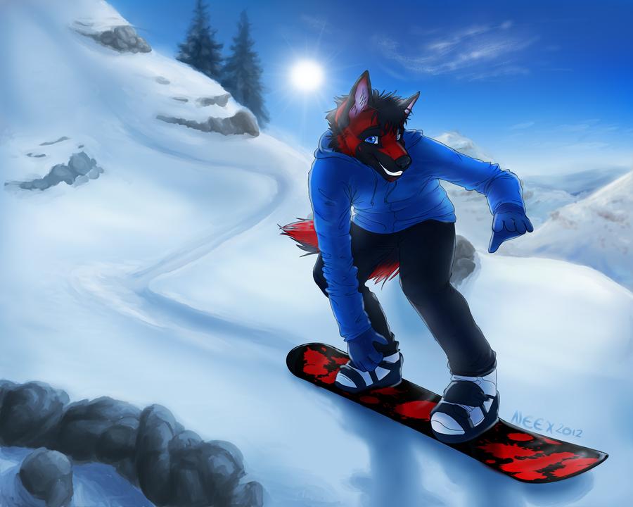 Snowboarder by bingles