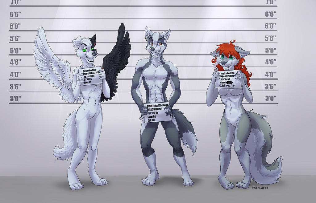 Criminal Lineup by bingles