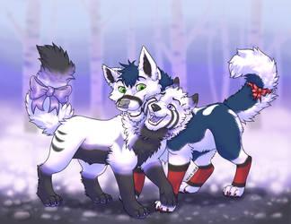 Woof snow by bingles