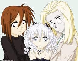 Hellsing - Valentine Family by melkoshi