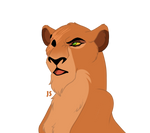 Reina - the daughter of Skar and Sarabi