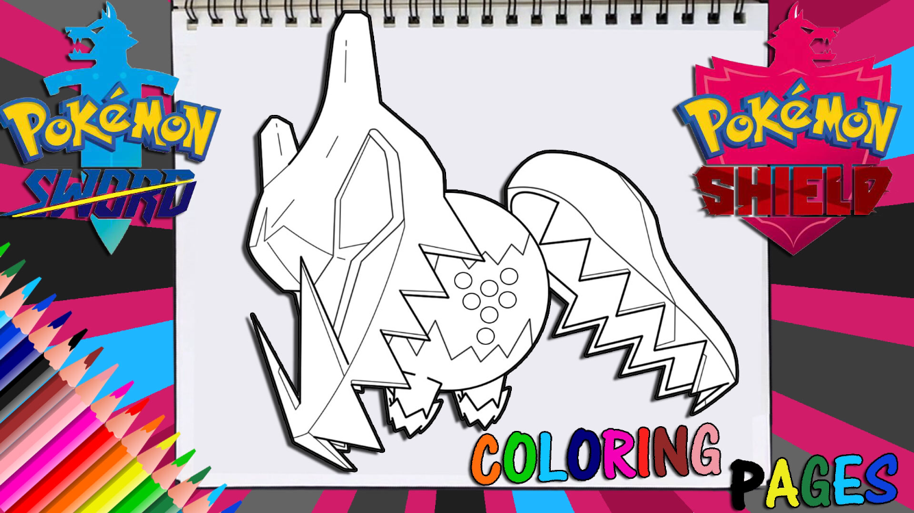 Coloring Pages Pokemon Sword And Shield Coloring Pages For Kids