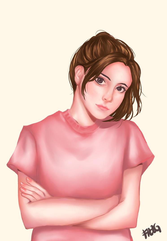 Girl by FizzGerberaa