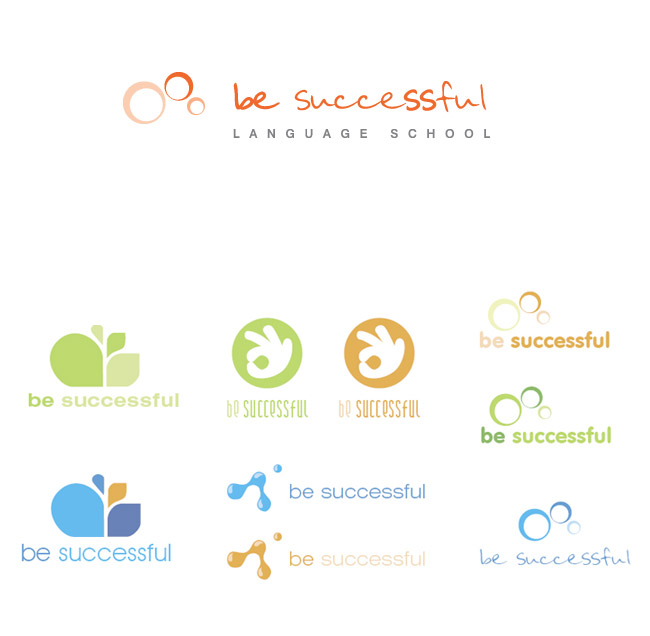 logo for language school by Magdusia