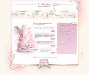 wedding planner webdesign