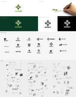 logo it company by Magdusia