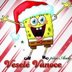Merry Christmas - SpongeBob by GiraffeAndy