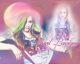 Avril Lavigne Wallpaper 2 by GiraffeAndy