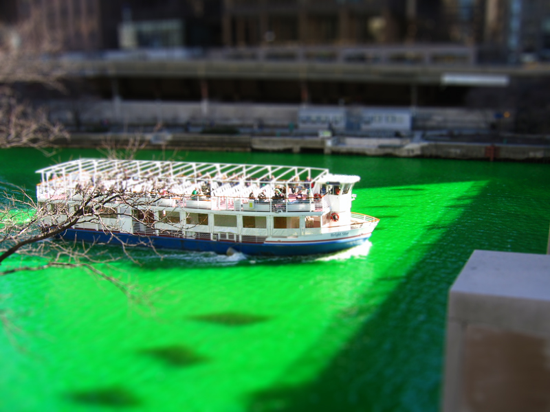 Chicago River - Tilt-Shift by ExplodedSoda
