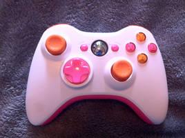 Custom Xbox 360 Controller by ExplodedSoda