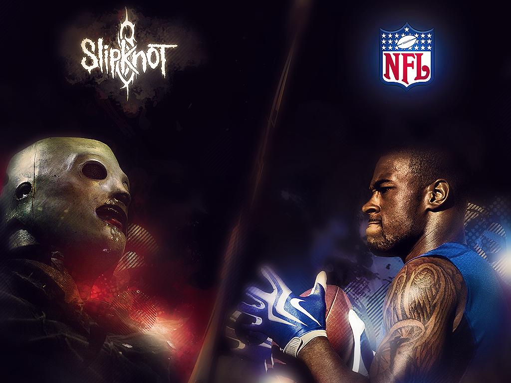 Slipknot and NFL by JoaoPedroPG