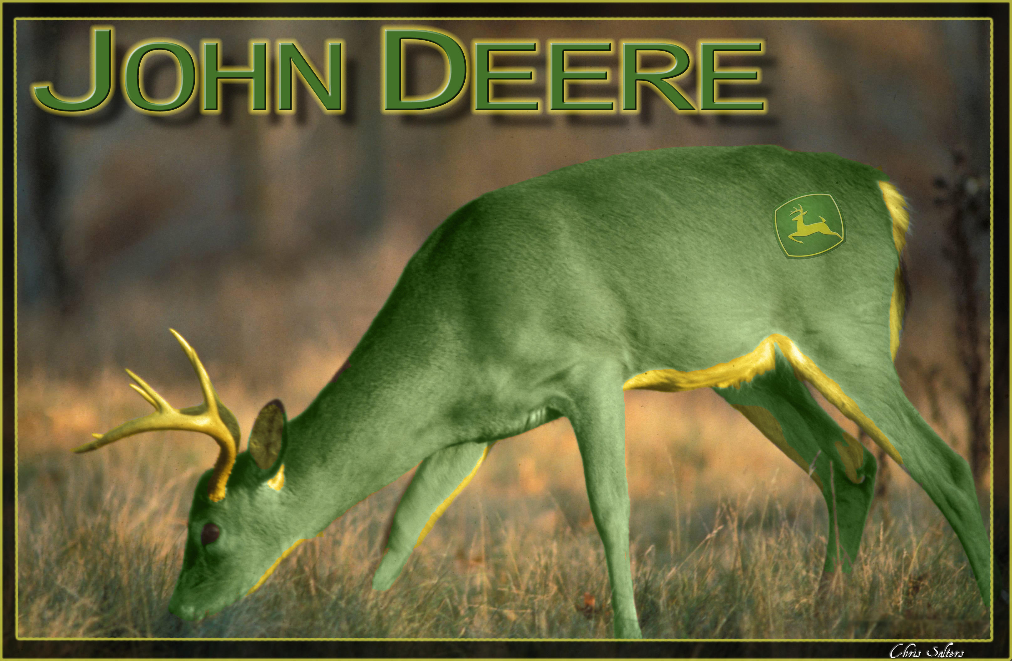 john deere christmas wallpaper - photo #13