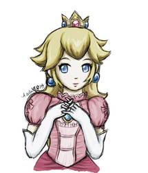 Princess Peach by Aselea