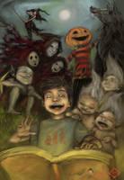 happy horror book by tsad