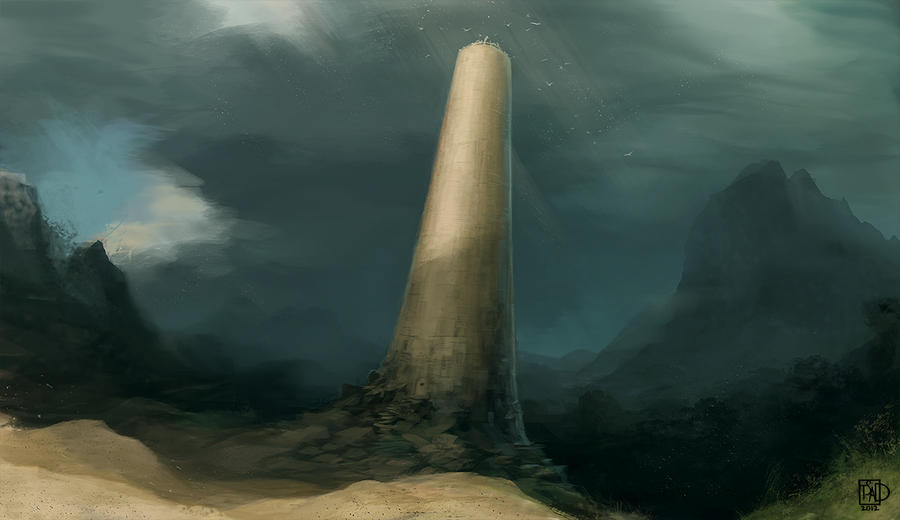 the papertower by tsad