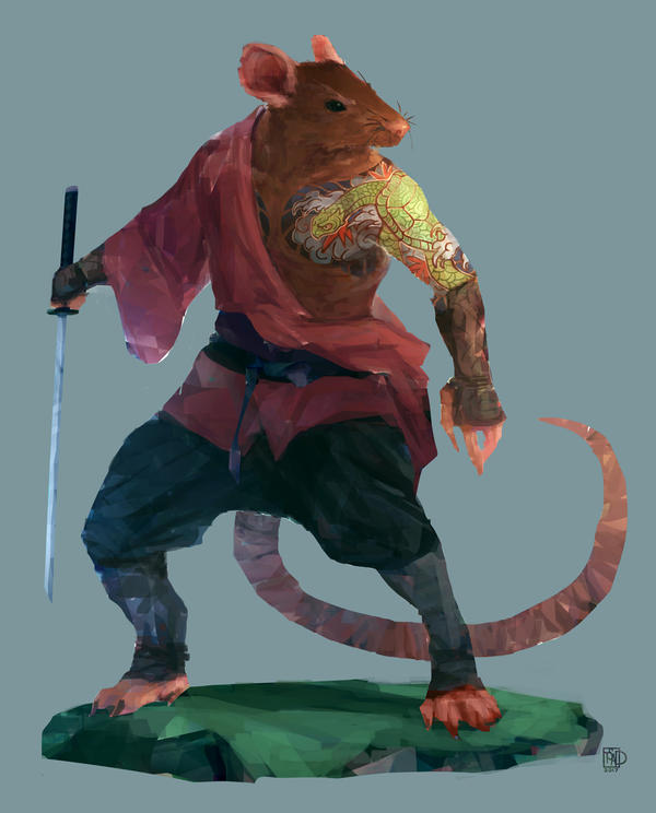 Young Splinter by tsad on DeviantArt