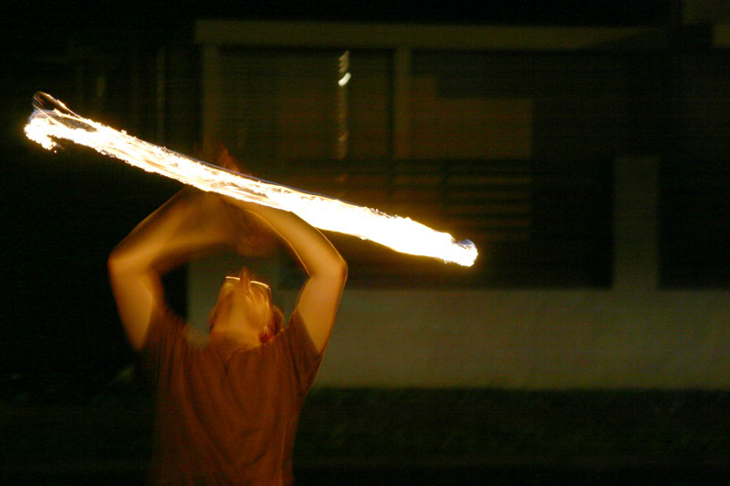 Fire Arts - Overhead by bingodingo