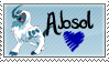 Absol Stamp
