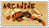 Arcanine Stamp by DrkFaerieGFX