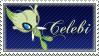Celebi Stamp by DrkFaerieGFX