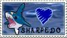 Sharpedo Stamp by DrkFaerieGFX