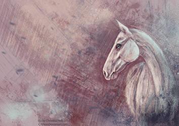 Akhal-Teke Impressionism by CAHess