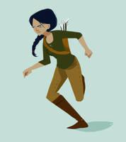 Katniss by Bumbledom