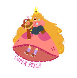 Super Peach! by Bumbledom