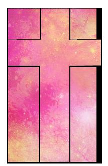Galaxy cross png