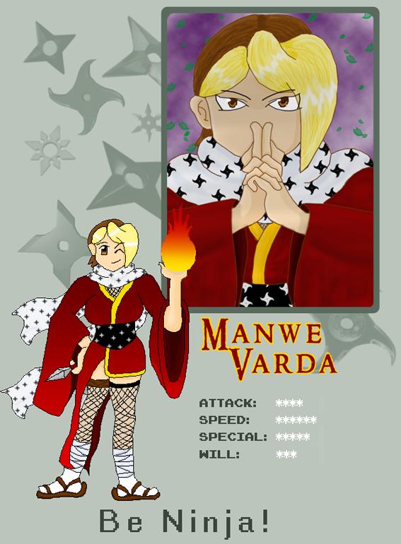 Manwe Pixel Fighter ID by Manwe-Varda