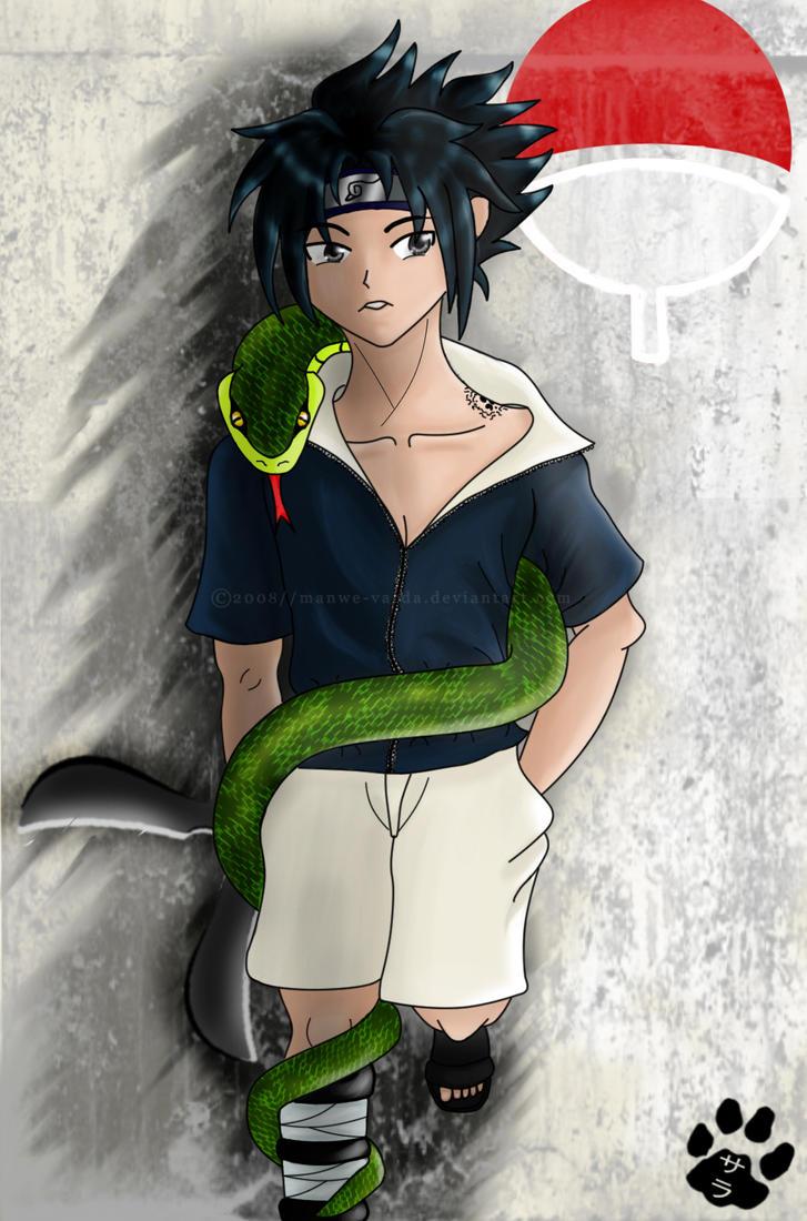 Kiriban: Sasuke by Manwe-Varda