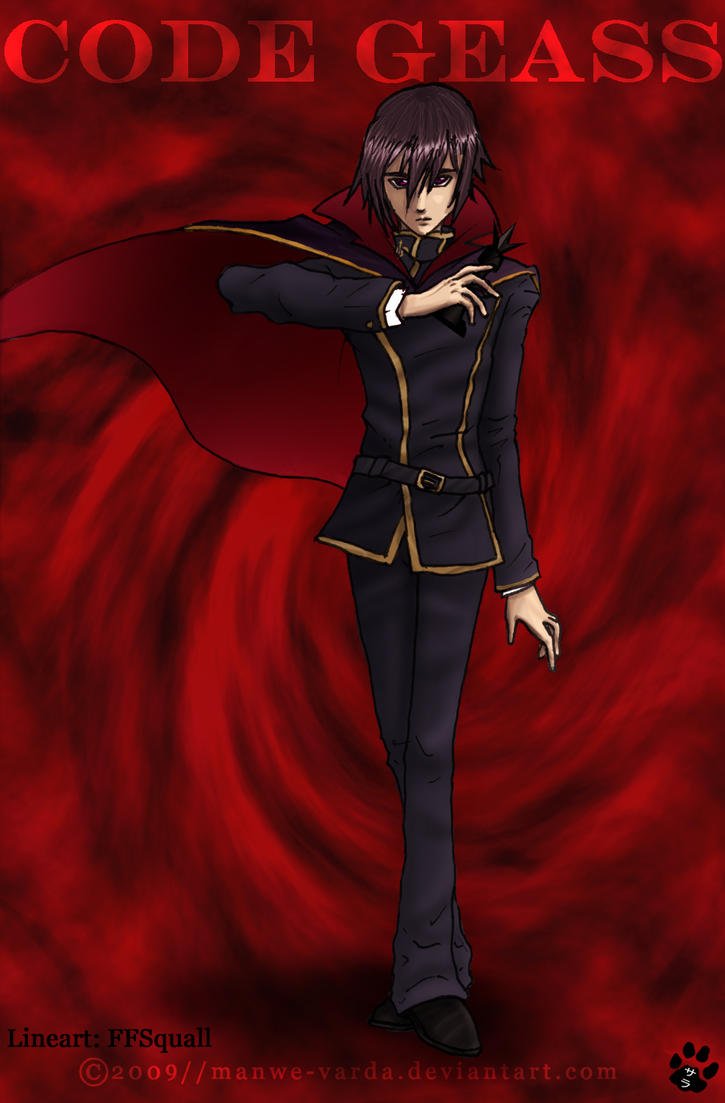 Collab: Lelouch by Manwe-Varda