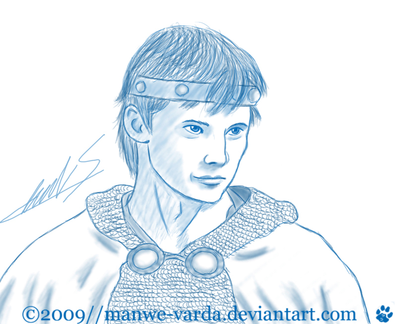 Arthur Pendragon by Manwe-Varda