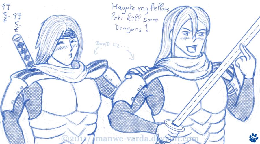 Dragon Quest by Manwe-Varda