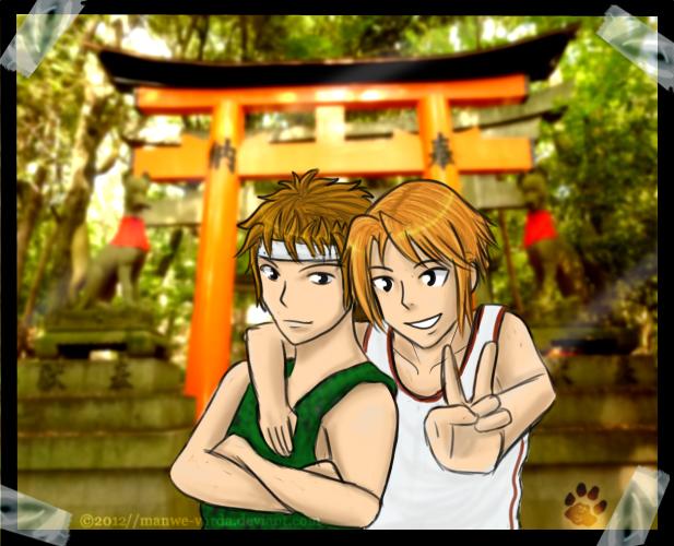 Trip to Fushimi Inari by Manwe-Varda