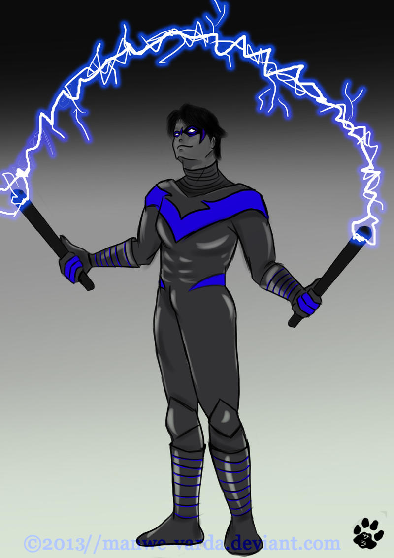 ::Nightwing:: by Manwe-Varda