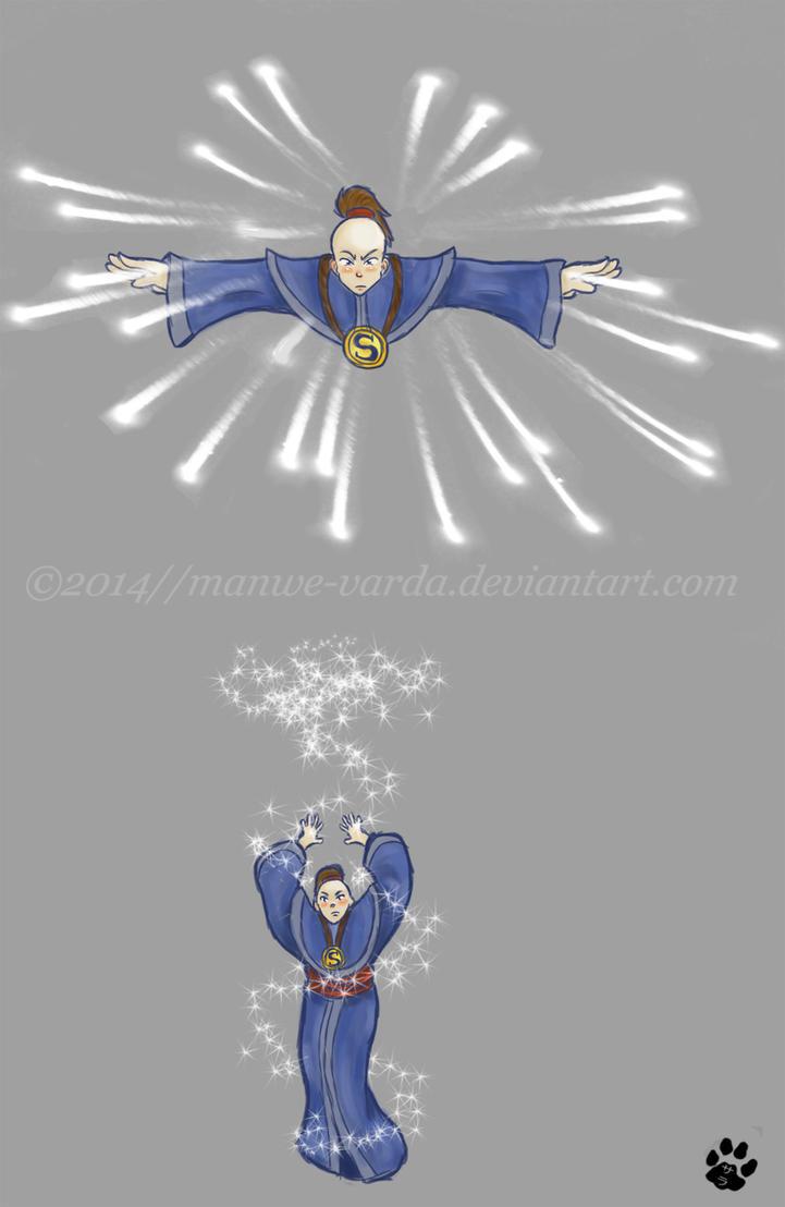 Lightning Spell by Manwe-Varda