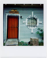 polaroid - barred entrance by mr-amateur
