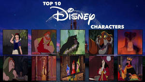 My Top 10 Favorite Disney Characters
