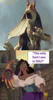 Esmeralda calls Jar Jar Binks A fool